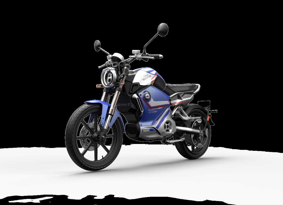 Motocykle Super SOCO